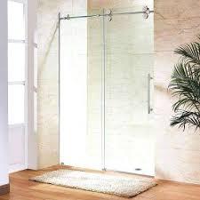 frameless bathroom doors elan in x in sliding shower door frameless bathtub doors miami frameless bathroom doors
