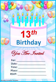 Free Birthday Invitation Cards Make Your Own Invitations My Template
