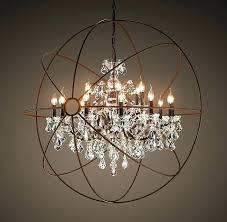 halo chandelier crystal like restoration hardware designs 41