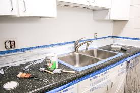 how to resurface laminate countertops for under 50
