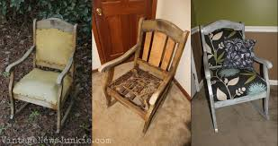 The Rescued Rocking Chair: How to Reupholster a Chair Tutorial