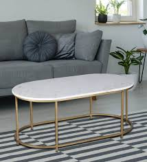 severo coffee table with marble top
