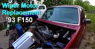 wiper motor replacement 1993 ford f150 pickup premium