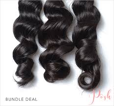 Hair Length Chart Bundles Virgin Loose Wavy Bundle Deals