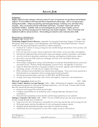 Pleasing Resume For It Support Specialist About It Support