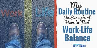 Sample Schedules Schedule Sample In Word Beauteous My Daily Routine An Example Of How To Find WorkLife Balance