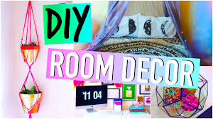 Room Decor Diy Diy Room Decorations Tumblr Inspired Youtube