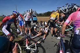 tour de france crash what happens
