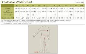 Chest Wader Sizes Tehnostroy Info