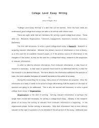 writing a good college application essay writing a college essay format samples of good college essays