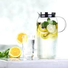regular water pitchers with lids b9984408 glass water pitcher with built in filter lid