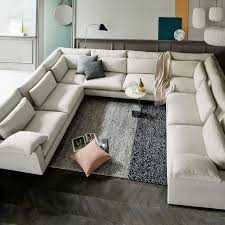 build your own harmony down filled sectional pieces extra deep west elm