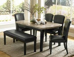 he 5070 64 6pc 6 pc cristo collection espresso finish wood and marble