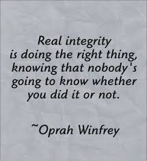 Integrity Quotes Best Integrity Quotes Best Integrity Quotes Photos By Oprah Winfrey For