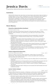executive administrative assistant resume samples executive administrative assistant resume