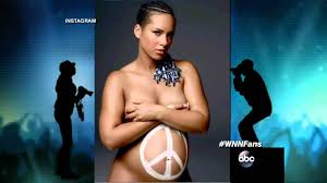 Alicia Keys Bares Nude Baby Bump for We Are Here Movement  Photo     Pinterest
