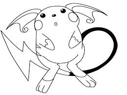 20 Disegni Da Colorare Pokemon Pikachu Disegni Da Colorare