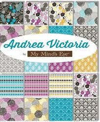 34 best Pretty Fabric images on Pinterest | Charm pack, Cotton ... & Amazon.com: Riley Blake ANDREA VICTORIA Precut 5-inch Stacker Charm Pack  Cotton Adamdwight.com