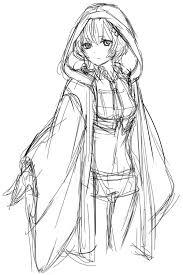 和服軍服のアレンジ衣装にキャラクターのイメージカラーを入れ込む
