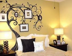 beautiful design bedroom wall collection with outstanding simple painting designs for pictures sponge