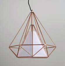 diamond pendant light copper diamond wire cage pendant light diamond pendant light australia