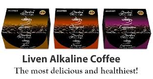 Image result for LIVEN ALKALINE COFFEE