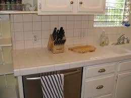 white tile kitchen countertops. Ceramic Tile Countertops Kitchen With Concept Picture Designs White S