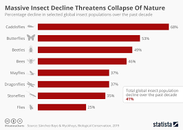 Chart Massive Insect Decline Threatens Collapse Of Nature