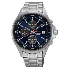 seiko men s chronograph stainless steel bracelet watch h samuel seiko men s chronograph stainless steel bracelet watch product number 3562859