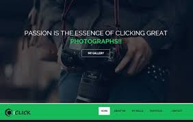 Photography Website Templates New IClick Photography Website Template WebThemez