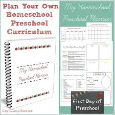 How To Make Preschool Lesson Plans - Simple Living Mama