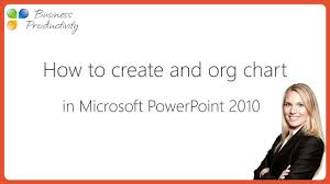 How To Create An Org Chart In Microsoft Powerpoint