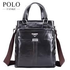 fanke polo men handbag men vertical genuine leather briefcases luxury business single shoulder bag genuine goods tide fh170898 n mens leather bags italian