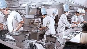 Gabe McIntosh - Busy Kitchen