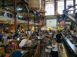 Food Court inside Central Market Florence Italy Pinterest.