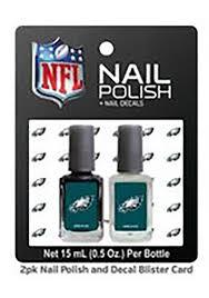 philadelphia eagles nail polish decal