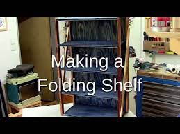 ᐉ how to make a folding shelf you