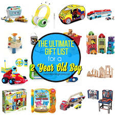 2 year old boy toys