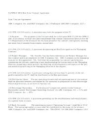 Joint Venture Operating Agreement Template
