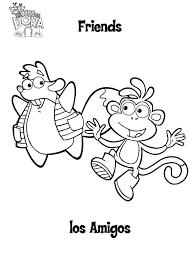 Kleurplaat Dora Kleurplaat 8454 Kleurplaten Intended For Dora
