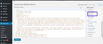 wordpress code how to edit wp codes