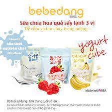 THANH LÝ] Sữa chua khô hoa quả sấy lạnh Bebedang Hàn Quốc cho bé 10m+