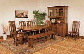 amish mission style furniture mission dining