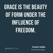 Quotes About Grace And Beauty Best of Friedrich Schiller Inspirational Quotes QuoteHD