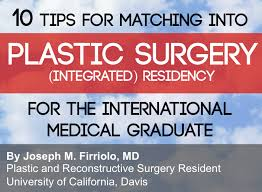 10 Tips For Matching Into Plastic Surgery Integrated