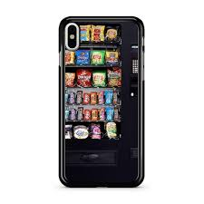 Iphone Vending Machine Custom Snacks Vending Machine IPhone X Case CASESHUNTER