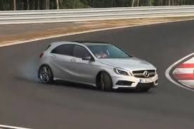 355bhp Mercedes A45 AMG driven flat out - autocar.co.uk - YouTube