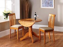 decorative small drop leaf table and chairs 21 dark wood dining with fold away round furniture