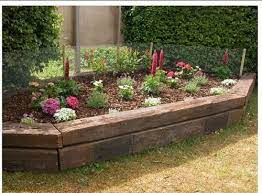 railroad ties landscaping everything