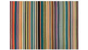 linie designs feel rainbow stripe rug